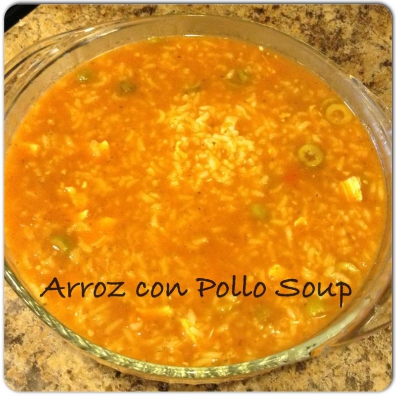 Sopa de arroz con pollo chicken rice soup blessed little family image forumfinder Gallery