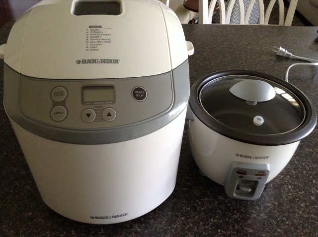 Bread Maker & Rice Cooker