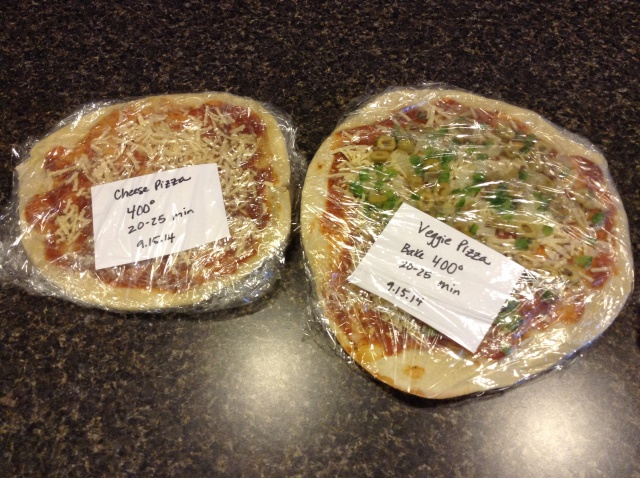 Vegan Cheese & Veggie Pizzas