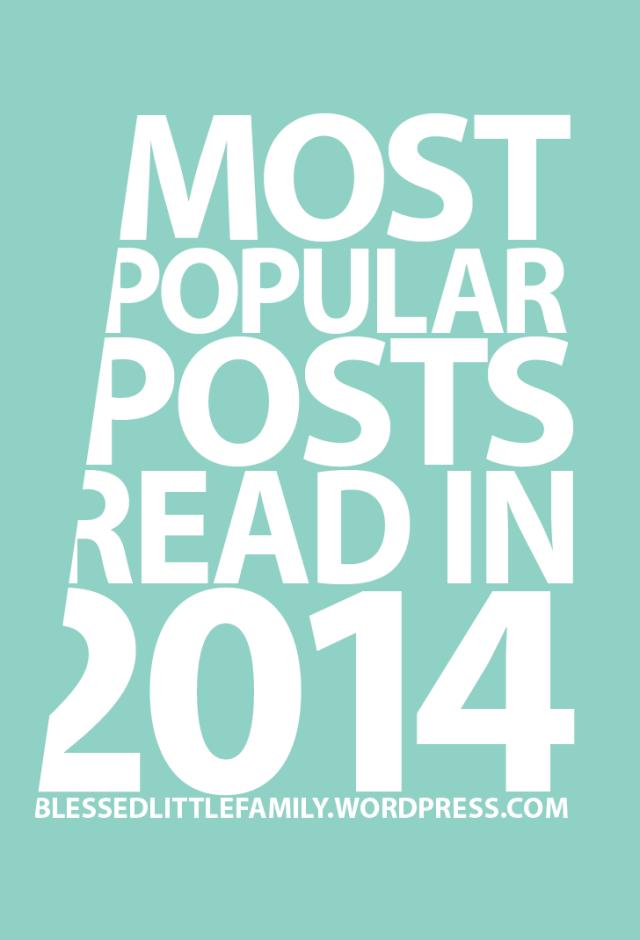 Top 2014 Posts