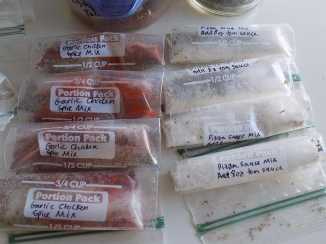 Garlic Chicken Spice Mix & Pizza Sauce Mix