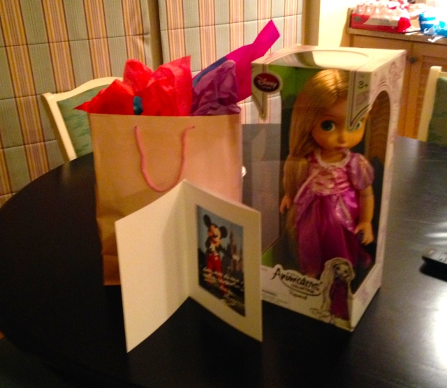 The managers had this as a surprise for SG after she broke out in hives from the room.  She loved these gifts!