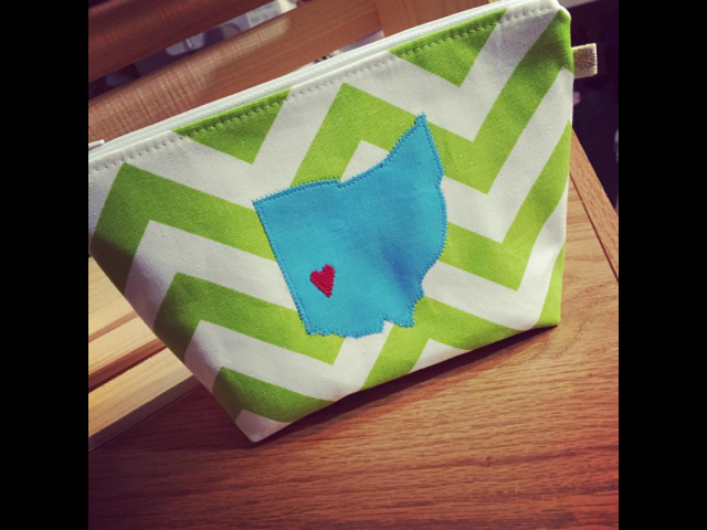 Make Up Bag- Ohio!