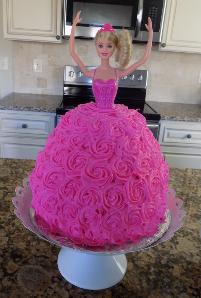 Fine Homemade Barbie Birthday Cake Dairy Egg Free Blessed Little Funny Birthday Cards Online Barepcheapnameinfo