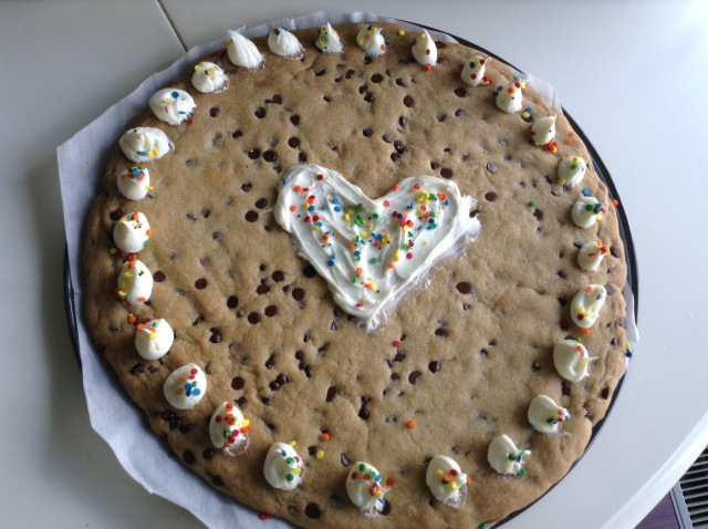 My 1st Ever Cookie Cake!